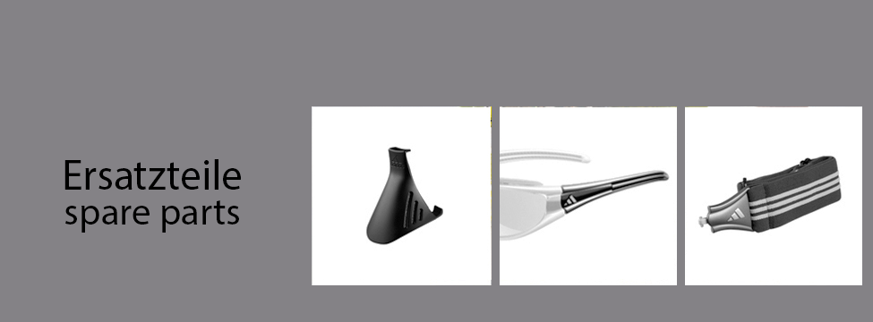adidas Ersatzteile und Ersatzgläser