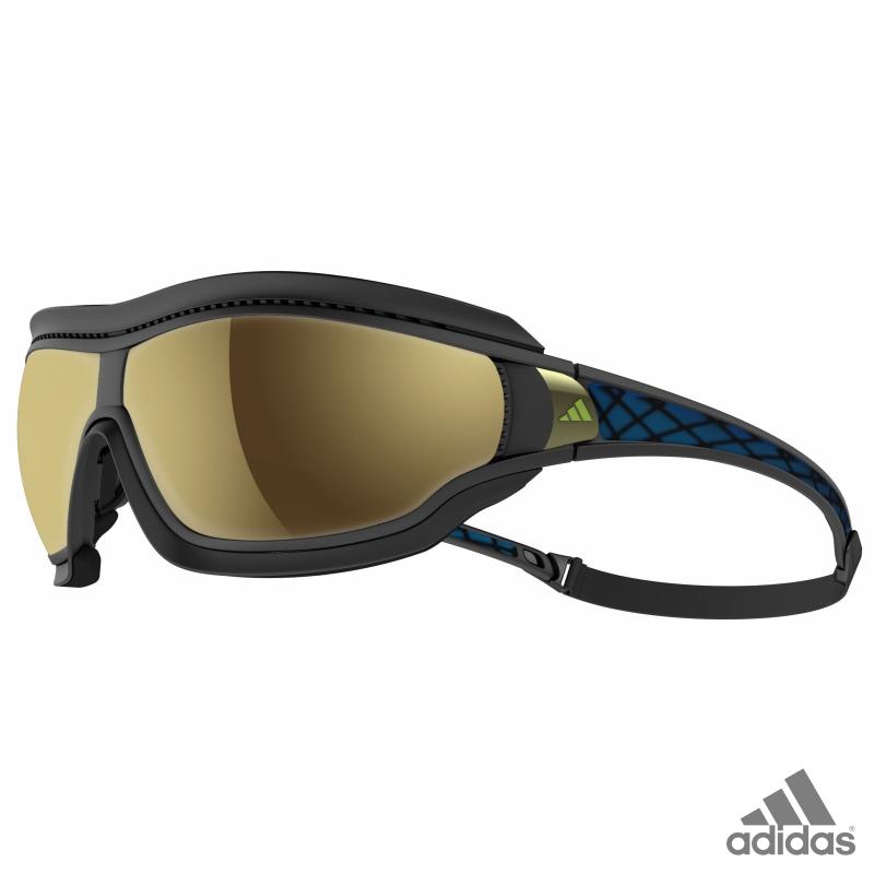 f844fca44b7 adidas tycane pro outdoor L black matt blue   a196 - 6051