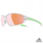adidas evil eye evo L white matt/green / a418 - 6052