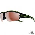 adidas evil eye halfrim pro S black shiny/green / a168 -...