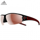 adidas evil eye halfrim L black shiny/red / a402 - 6050