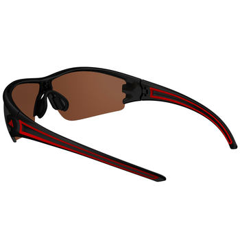 adidas evil eye halfrim S black matt/red / a403 - 6062