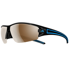 adidas evil eye halfrim S black shiny/blue / a403 - 6059