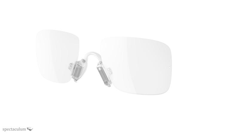 Estable Robusto el viento es fuerte  a545 - rimless optical insert for adidas sport glasses, 149,00 €